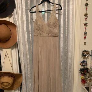 BHLDN Nude Bridesmaid Dress Size 8